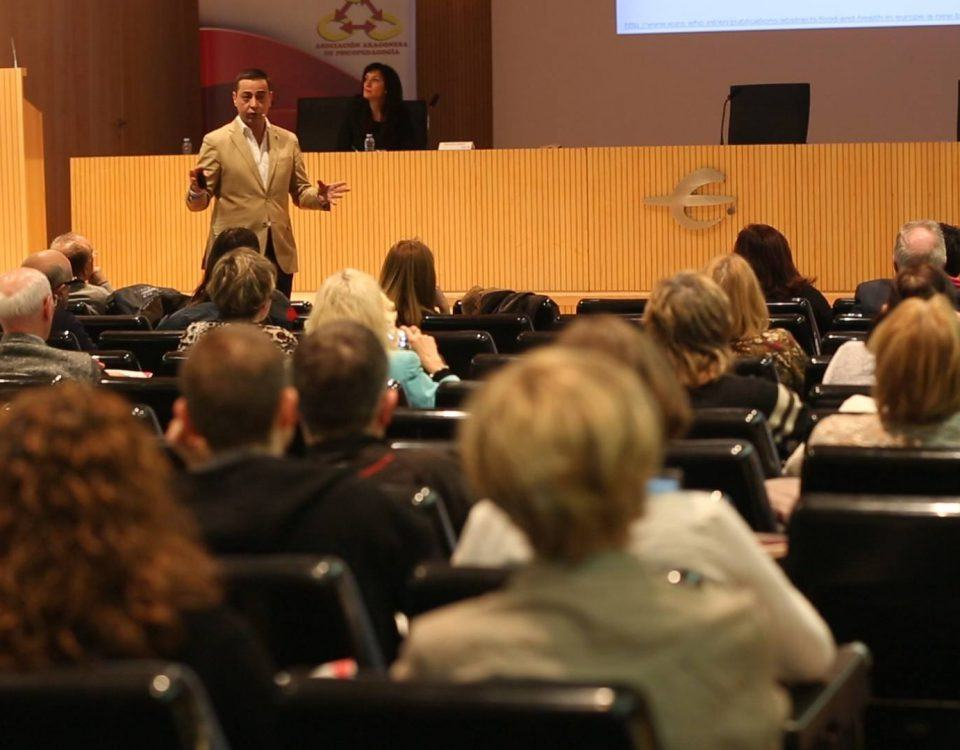 El nutricionista Juan Revenga en la jornada Retos VIII