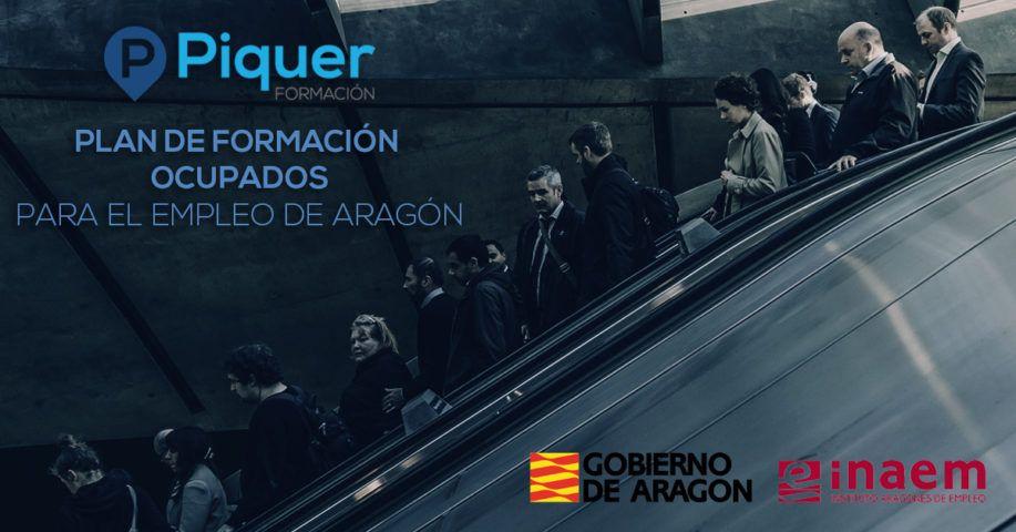 Plan de Formación Ocupados para el empleo de Aragón