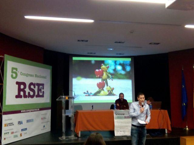 David Ariño en la Jornada Experiencias Compartidas, Congreso Nacional RSE