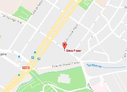 mapa localización Luis Vives 4-6 Zaragoza