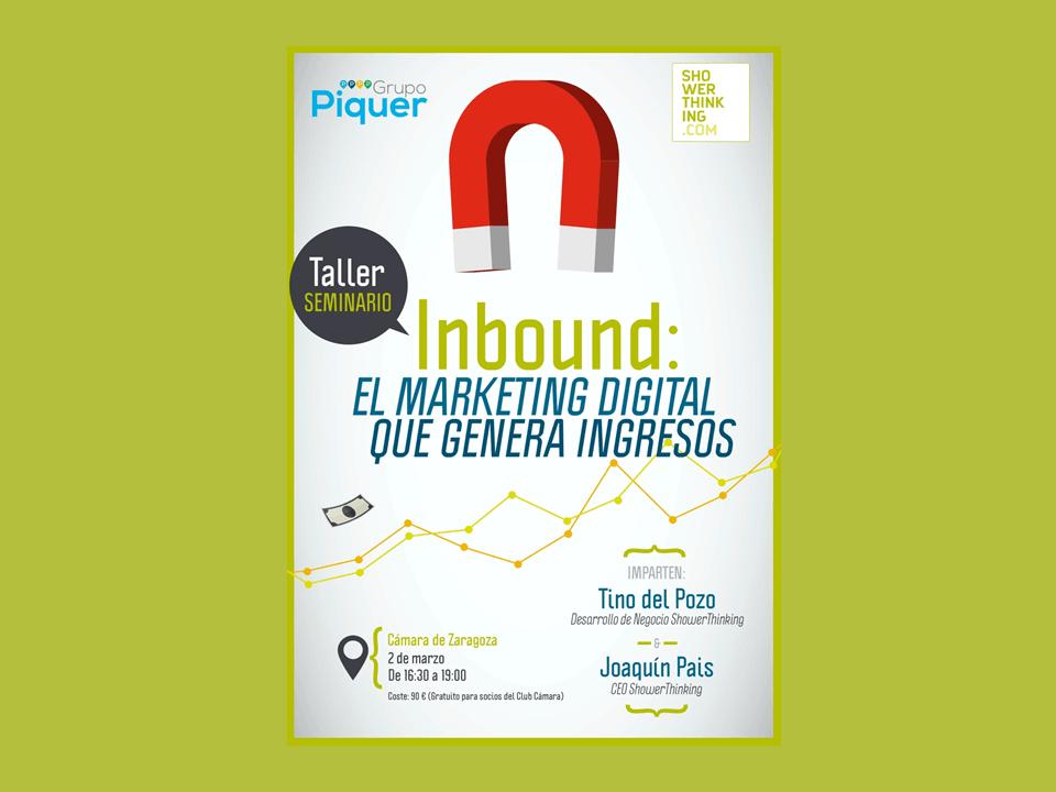 Taller de Inbound Marketing: el Marketing Digital que genera ingresos