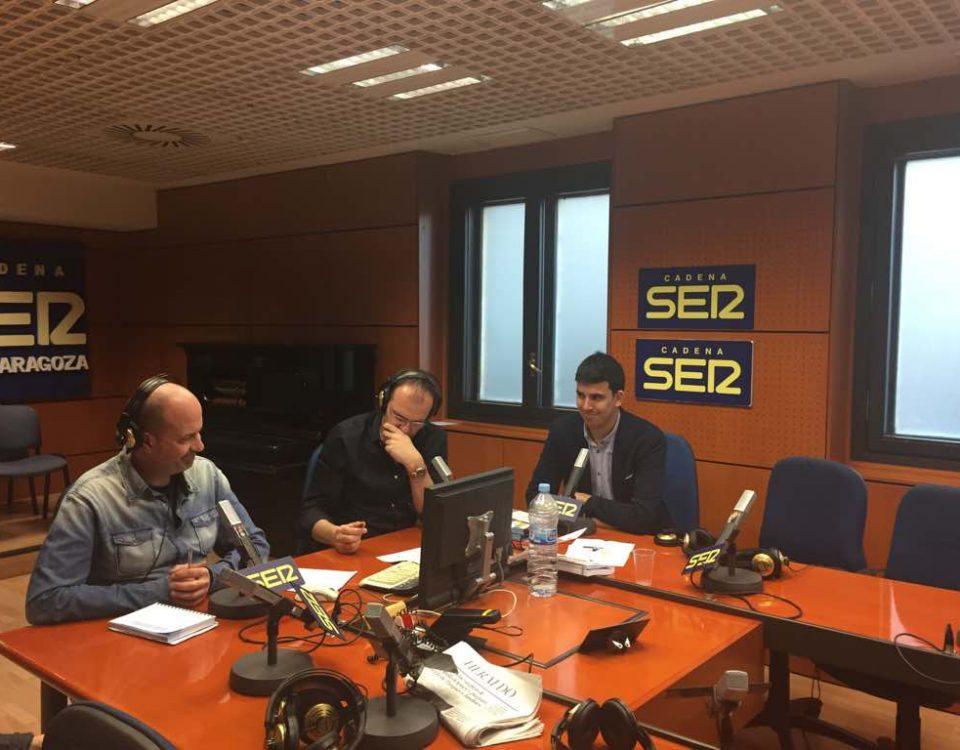 Sergio Pérez en Cadena Ser Zaragoza