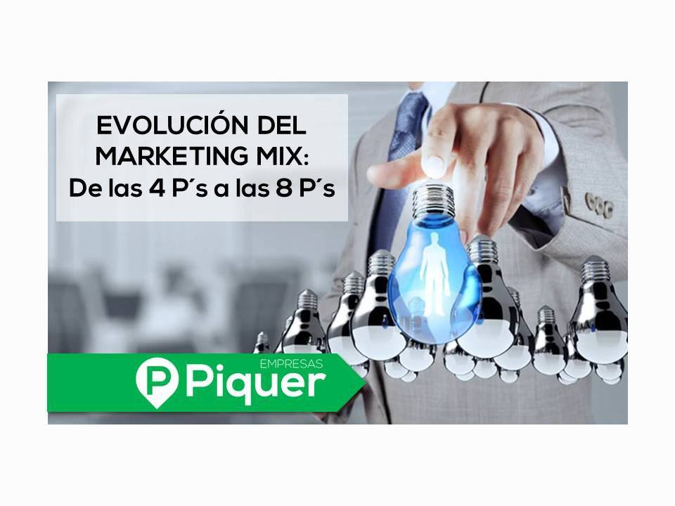 Evolución del marketing mix