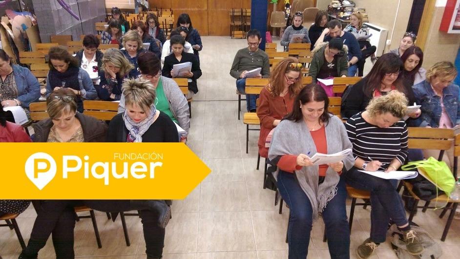 Taller de Técnicas de Estudio para padres en el Colegio La Purísima y San Antonio de Zaragoza.