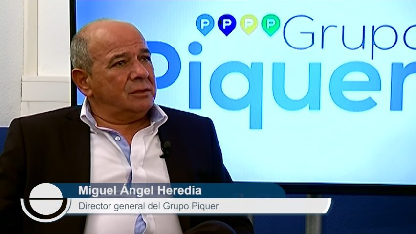El director general del Grupo Piquer, Miguel Ángel Heredia