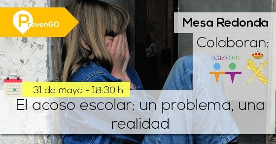 """""""El acoso escolar: un problema, una realidad""""."""