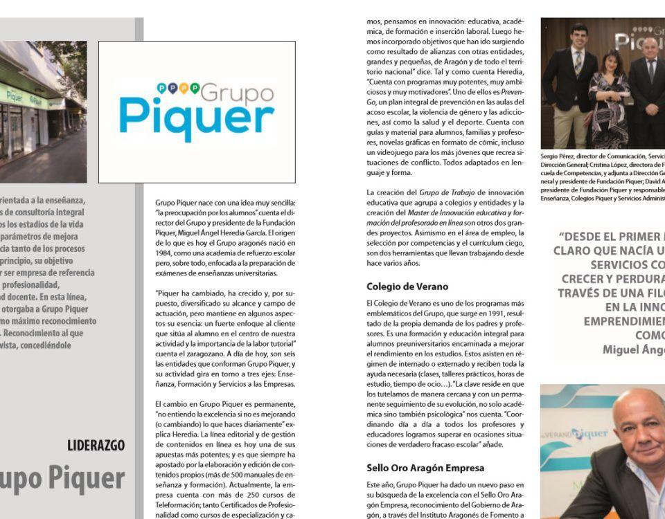Miguel Ángel Heredia, premio al liderazgo Ejecutivos de Aragón