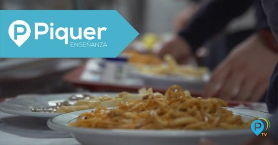 El comedor en el Colegio de Verano Piquer