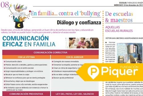 Diálogo y confianza en Heraldo Escolar