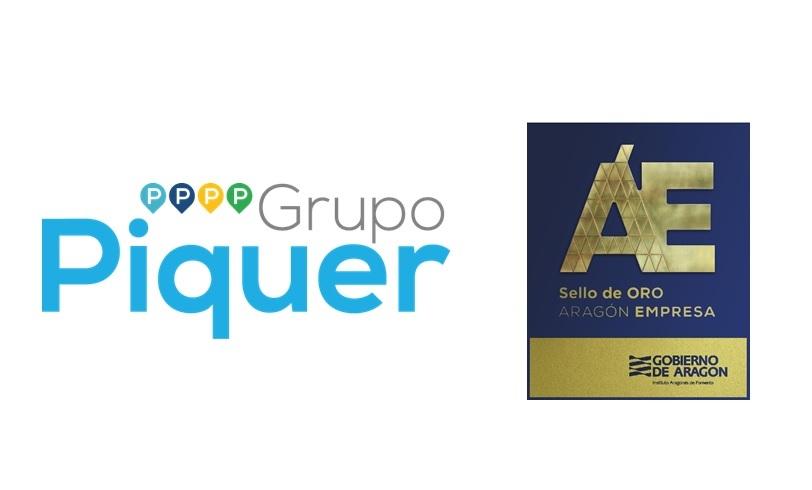 Grupo Piquer - Sello de ORO ARAGÓN EMPRESA