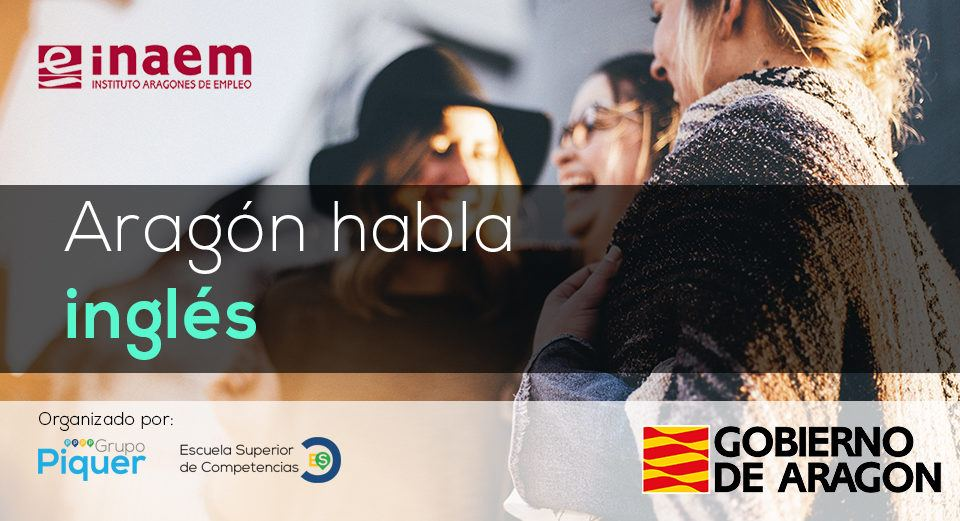 Aragón habla inglés